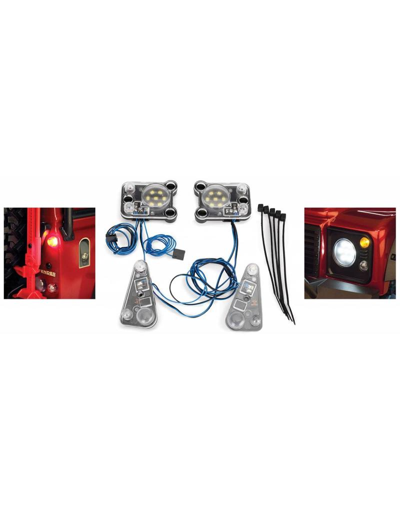 hight resolution of  traxxas tra8030 led light set complete contains rock light kit led lightbar