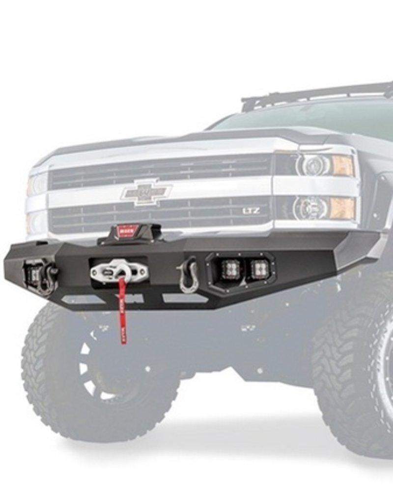 hight resolution of warn warn 95870 ascent front bumper for chevrolet silverado 2500 3500