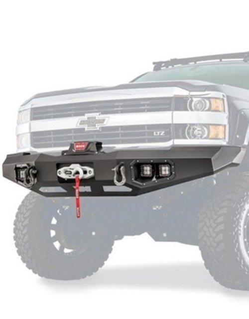 small resolution of warn warn 95870 ascent front bumper for chevrolet silverado 2500 3500