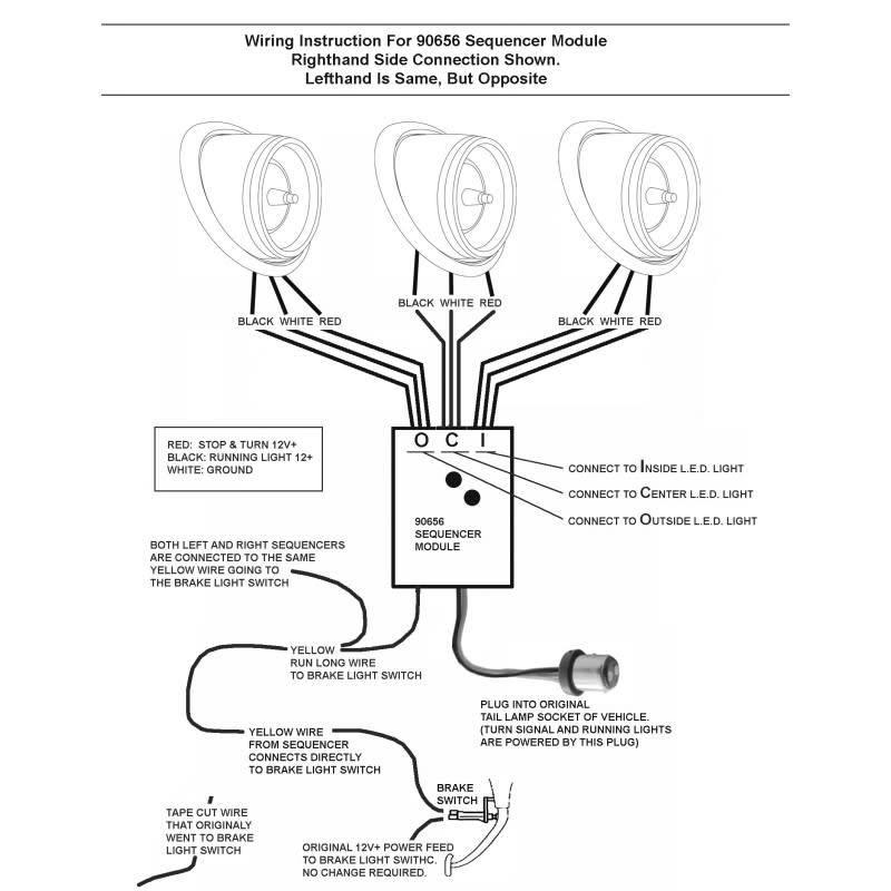 Wiring Manual PDF: 12v Led Stop Light Wiring Diagram