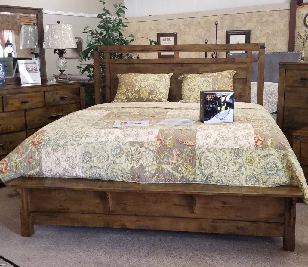 Curtis Panel Bed