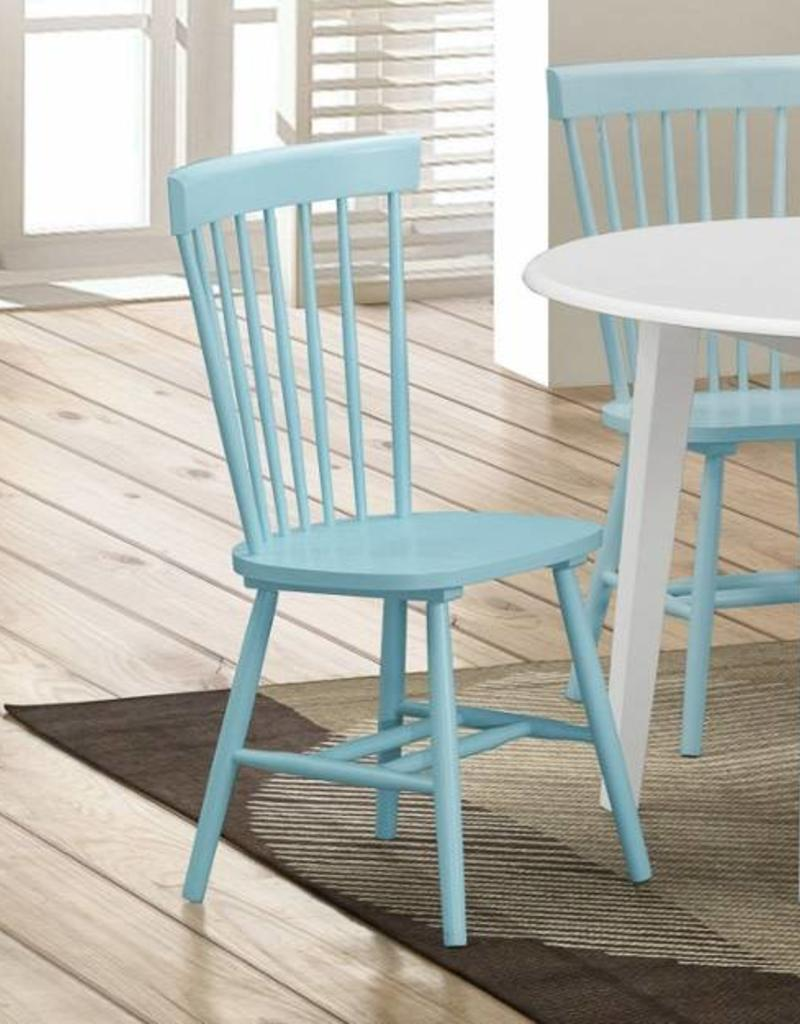 Aqua Dining Chairs Crownmark Pair Of Shelli Aqua Turquoise Chairs