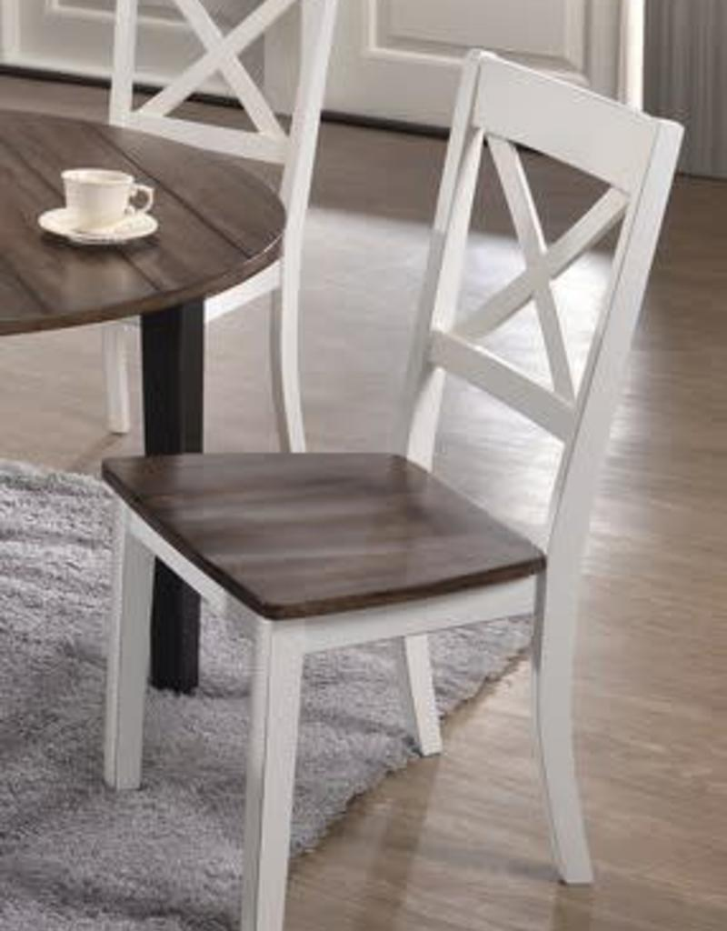 White Dining Chairs United A La Carte Farmhouse Dining Chair White