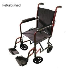 Transport Wheelchair Nova World Market Furniture Dining Chairs Refurbished 329 Chair Red Accessibility Medical
