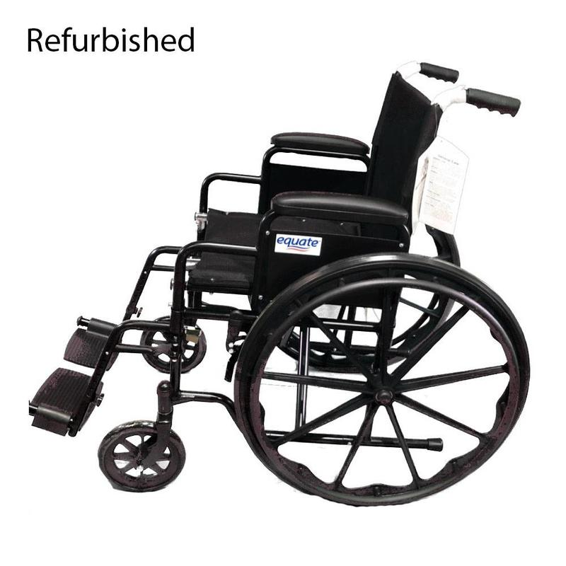 wheelchair manual fishing chair on ebay refurbished equate accessibility medical equipment