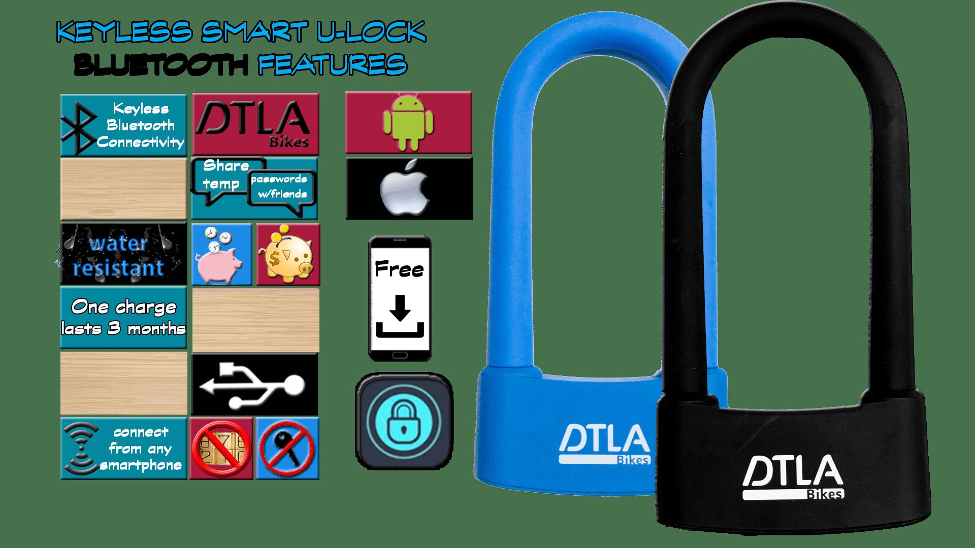 dtla bikes bluetooth keyless