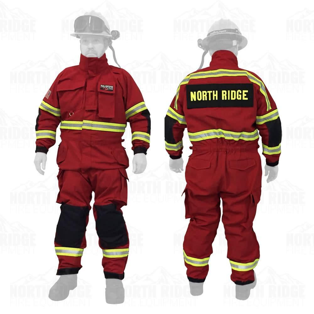 hight resolution of pgi pgi fireline multi mission dual certified jumpsuit
