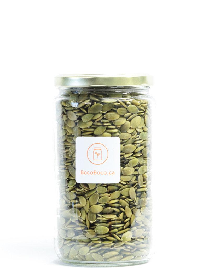 Graines de citrouille shine skin AA - Biologique - BocoBoco. l'épicerie en ligne zéro déchet