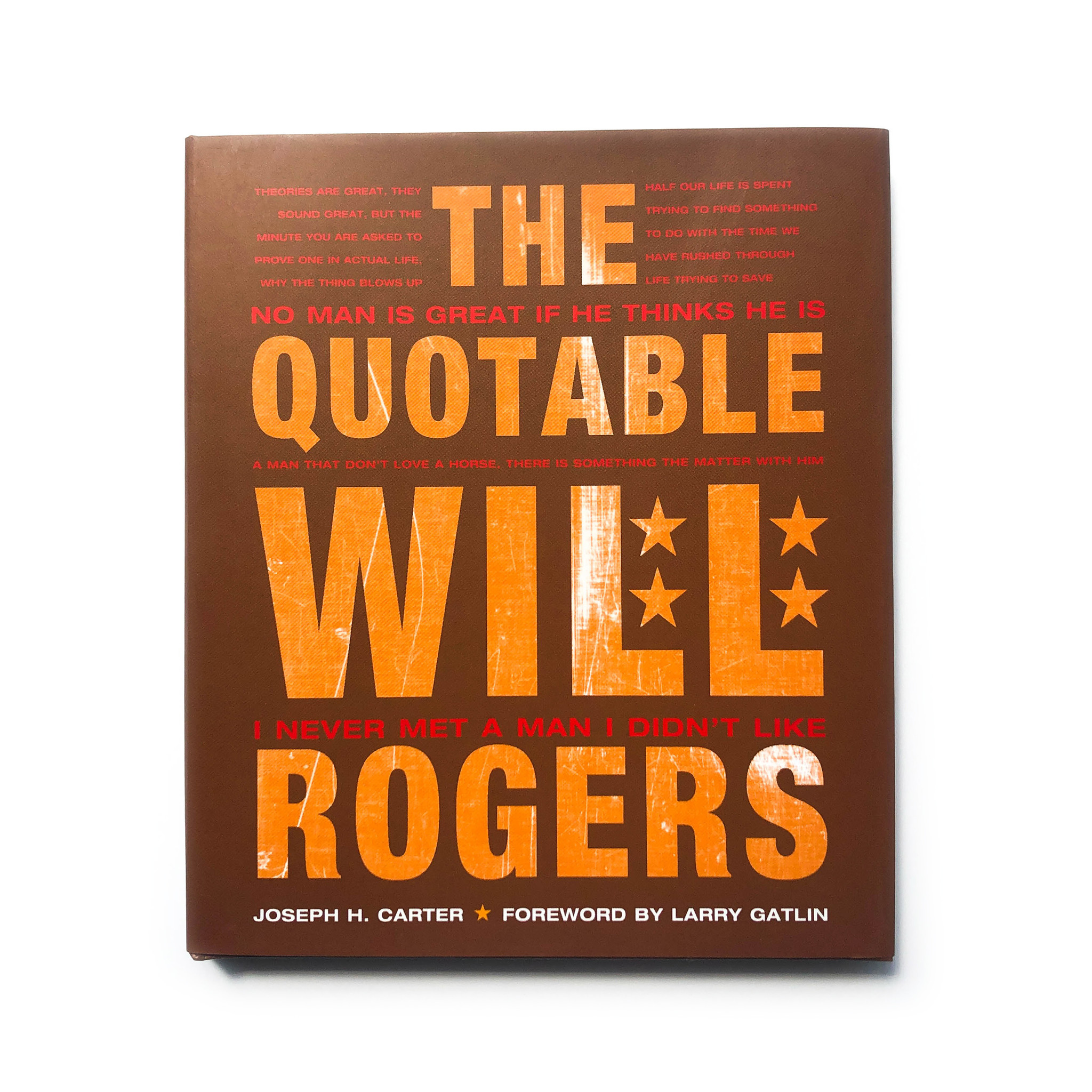 book quotable will rogers