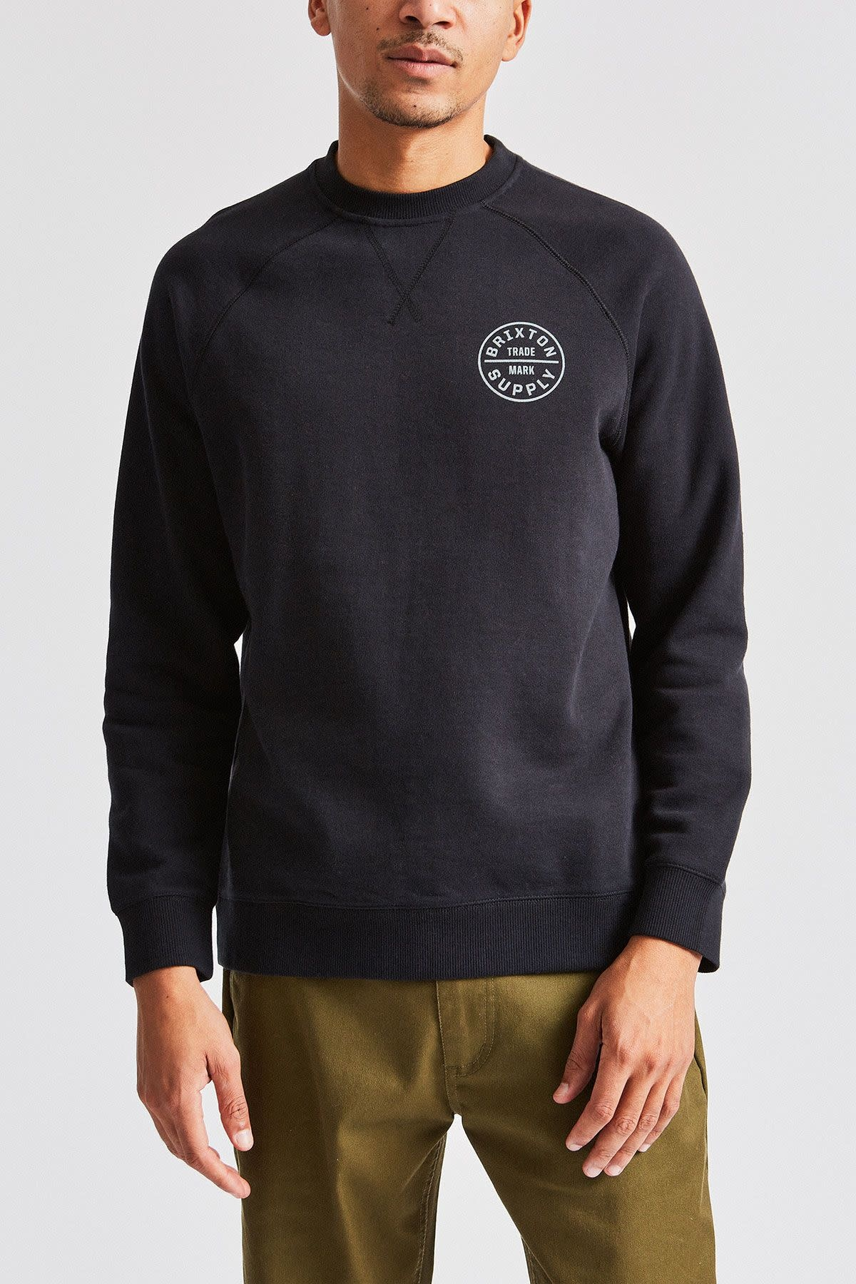 Brixton Oath Crew Fleece - Blauer Board Shop
