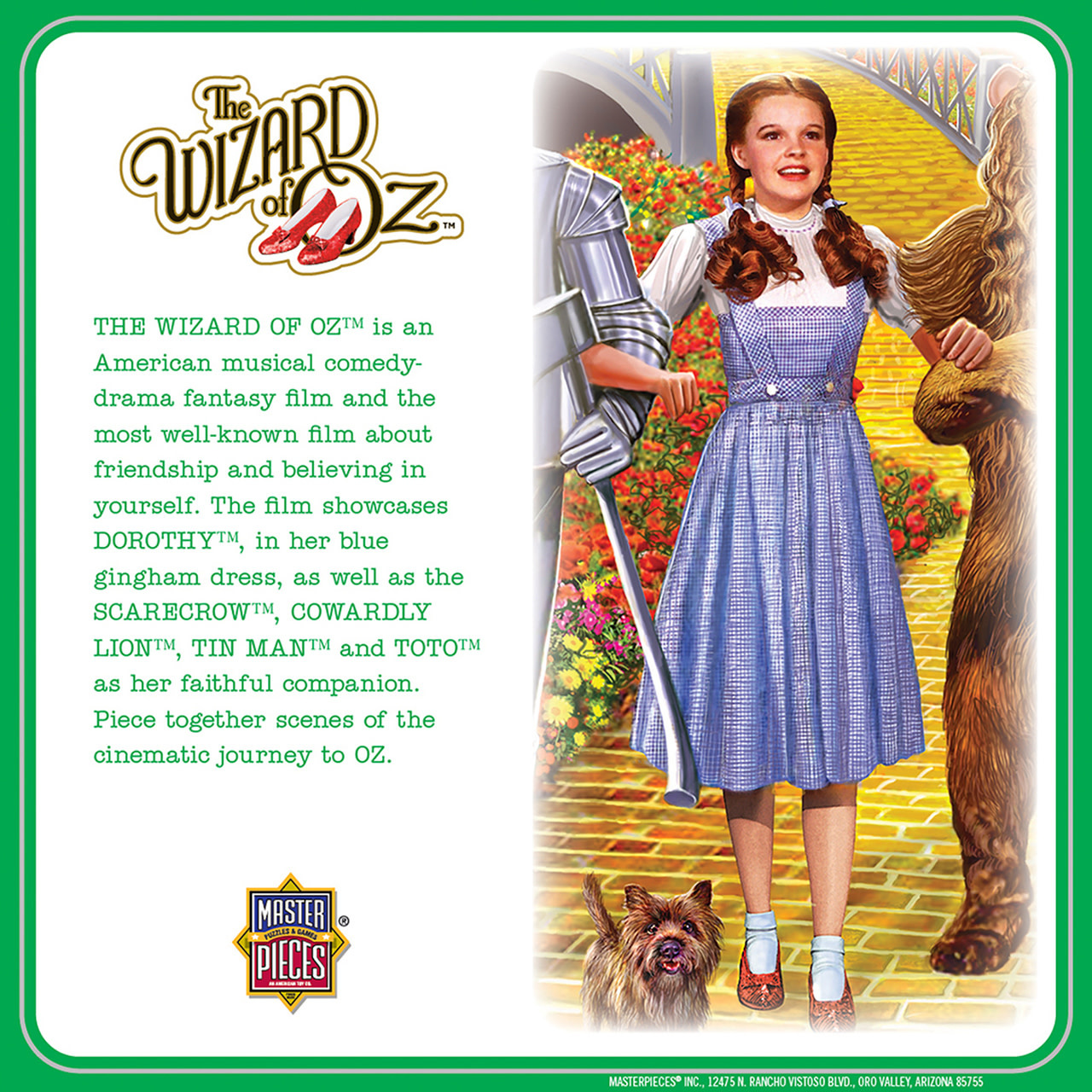 Wizard Of Oz Off To See The Wizard Puzzle Pc