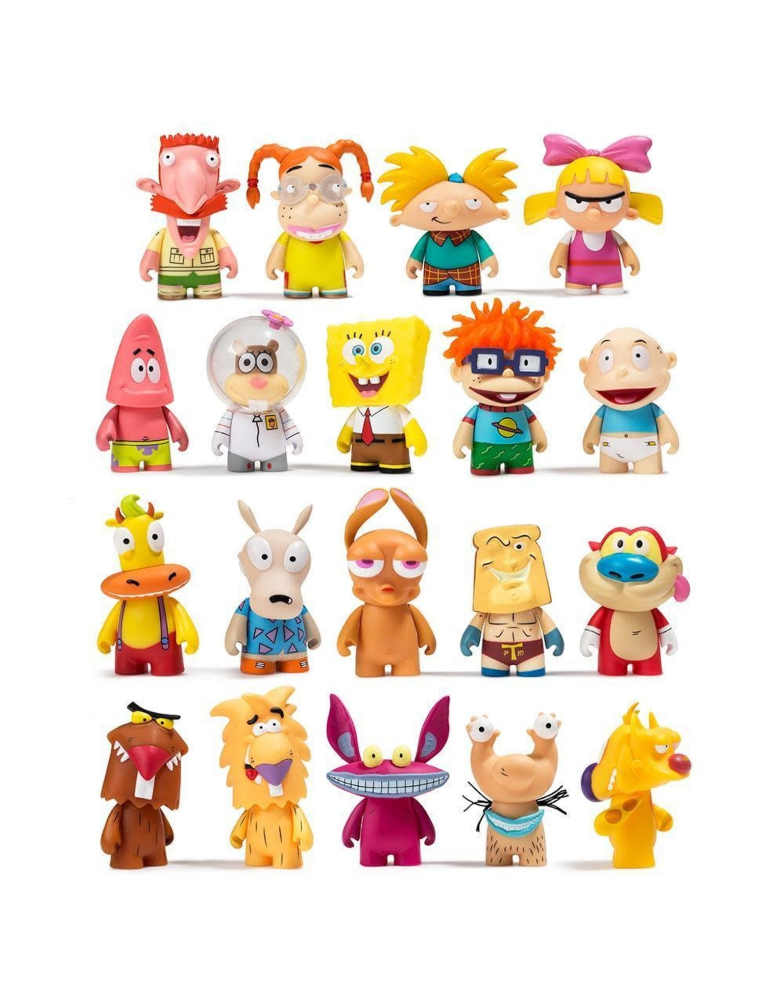 Big Bang Nickelodeon : nickelodeon, NICKELODEON, BLIND, FIGURES, KIDROBOT, SERIES