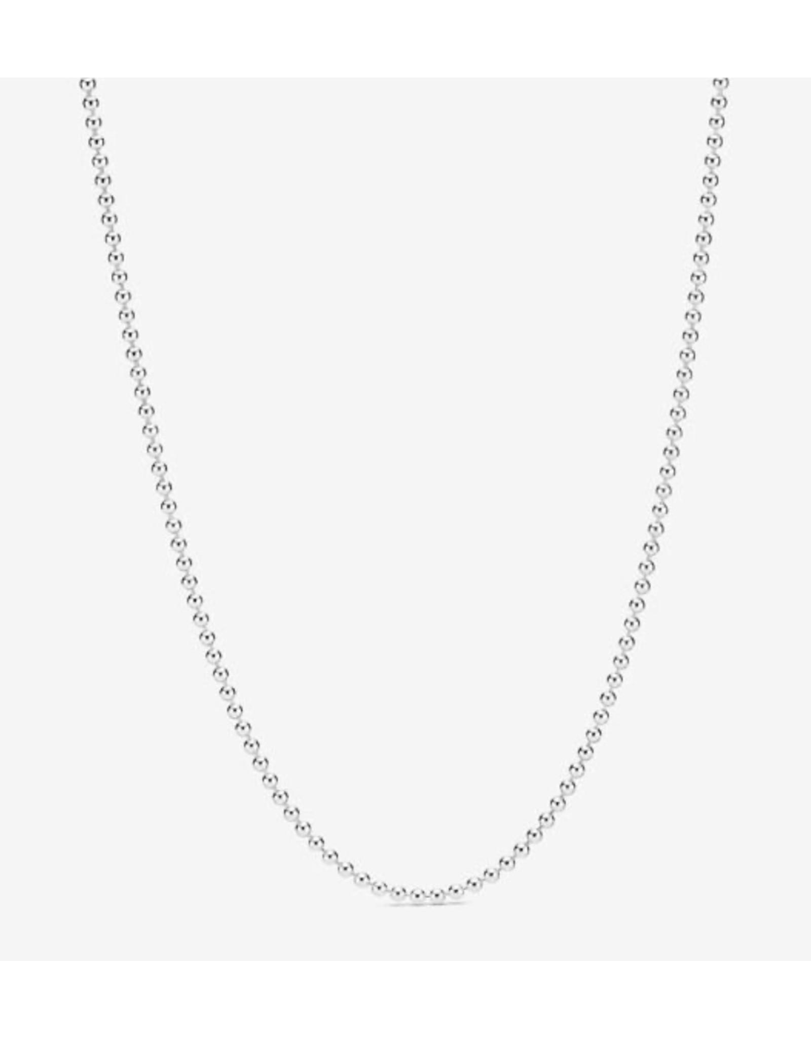 Pandora Necklace For Men : pandora, necklace, Pandora, Necklace,399104C00-60,, Polished, Chain,, Sterling, Silver, Monde