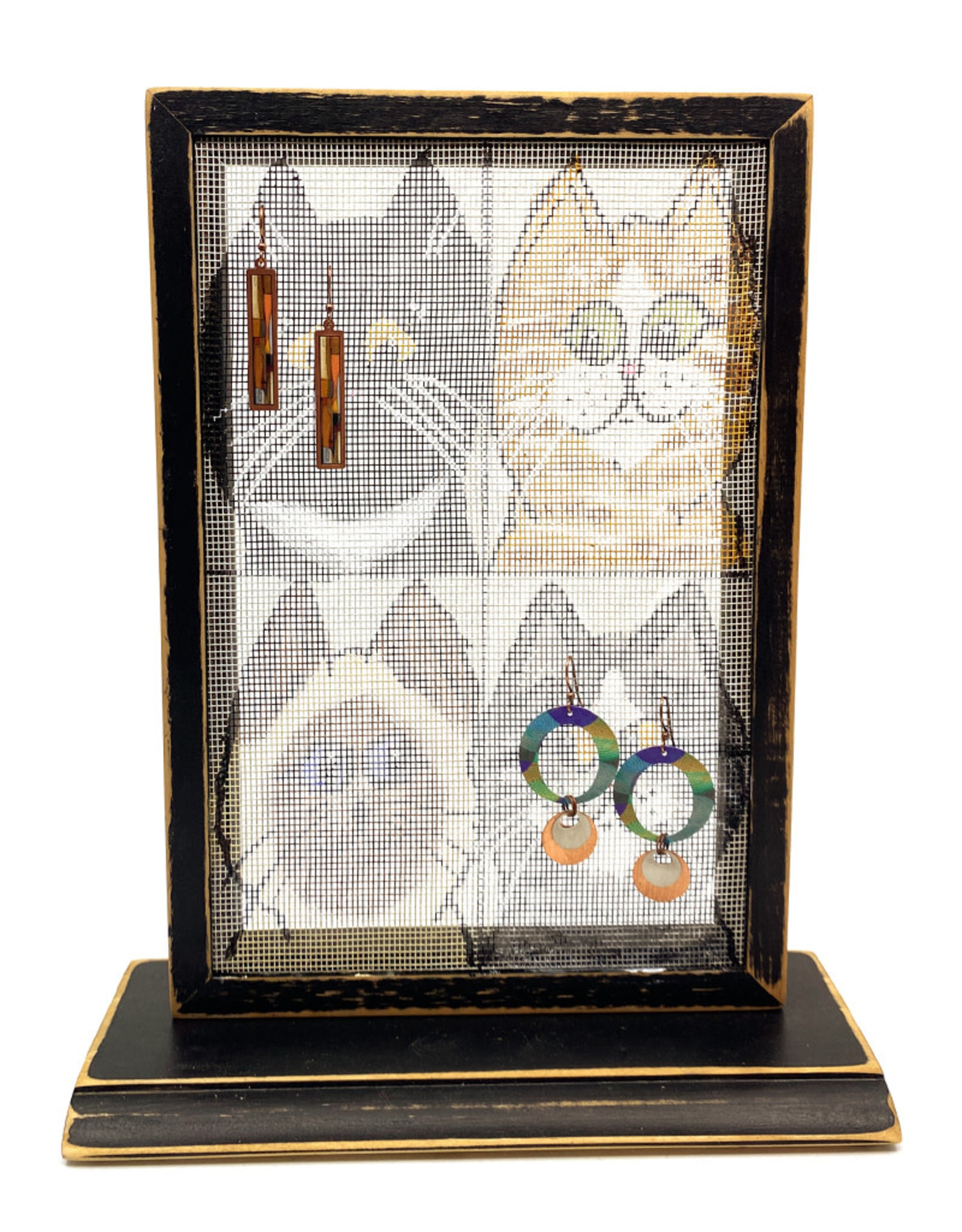 Mesh Earring Holder : earring, holder, EARRING, HOLDER, Pot-Pourri