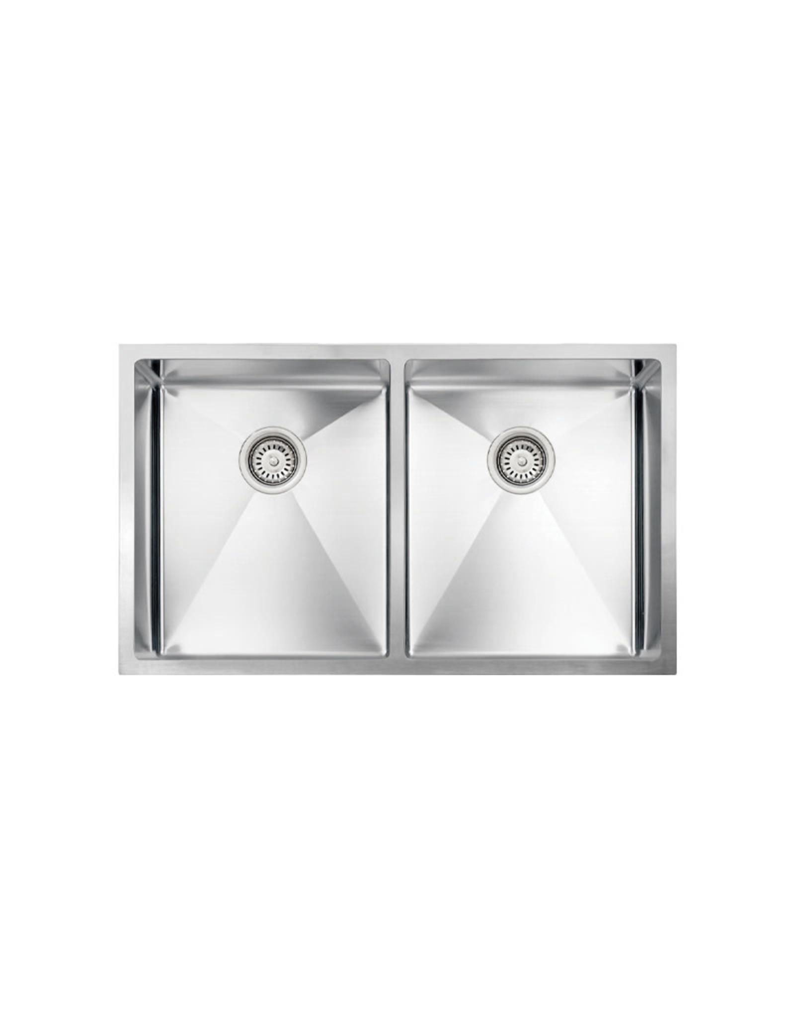 vogt vogt bludenz 18r undermount kitchen sink double bowl 50 50 32 x 18 x 9