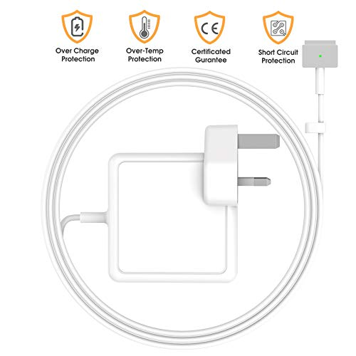 SIXNWELL Compatible With Macbook Pro Charger, Replacement