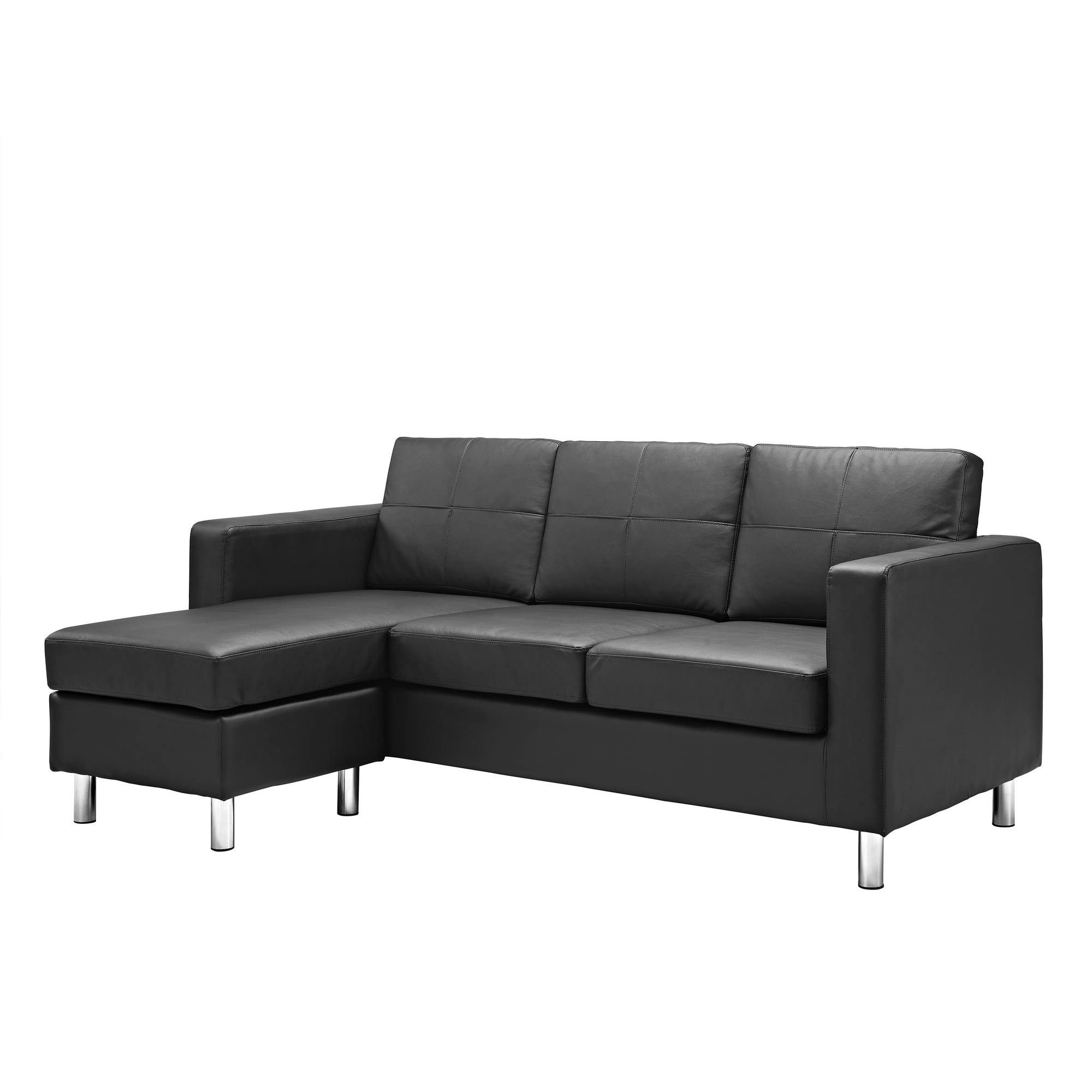 small es configurable sectional sofa black microfiber cleaning kit dorel living spaces