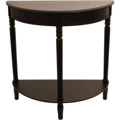 Semi Circle Sofa For Bay Window Modern Leather Corner Bed Half Round Console Table Multiple Finishes Ebay