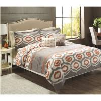 Better Homes and Gardens Ikat Trellis 5-Piece Bedding Set ...