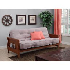 Max Coil Sofa Bed Broyhill Emily Set Better Homes And Gardens Wood Arm Futon With 8
