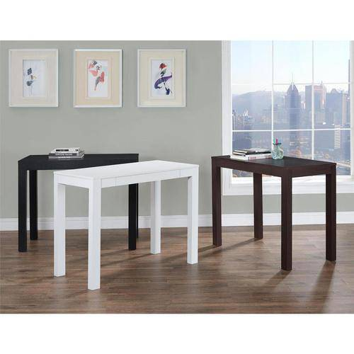 Mainstays Furniture Parsons Desk with Drawer White NEW  eBay