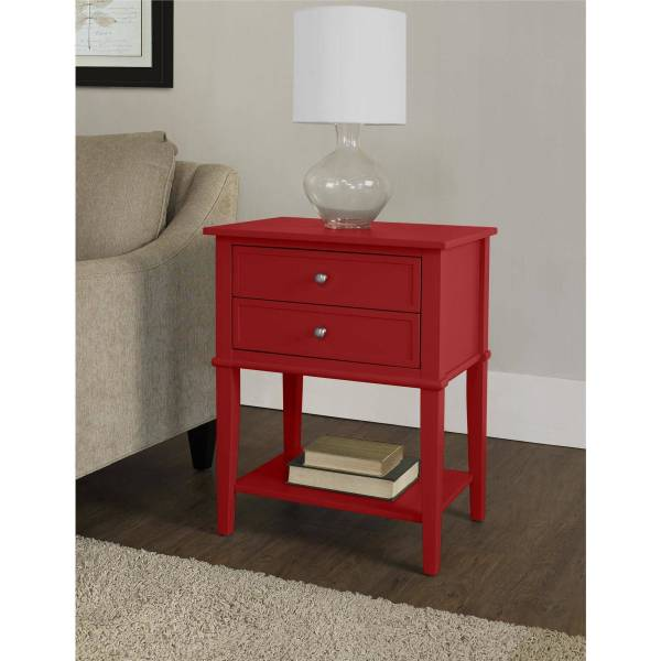 Altra Furniture Franklin 2-drawer Accent Table Multiple