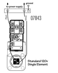Single Element Thermostat Wiring Diagram Camco Single