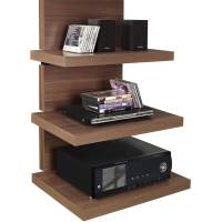 Altra Wall Mount TV Stand with 3 Shelves, for TVs up to 60 ...