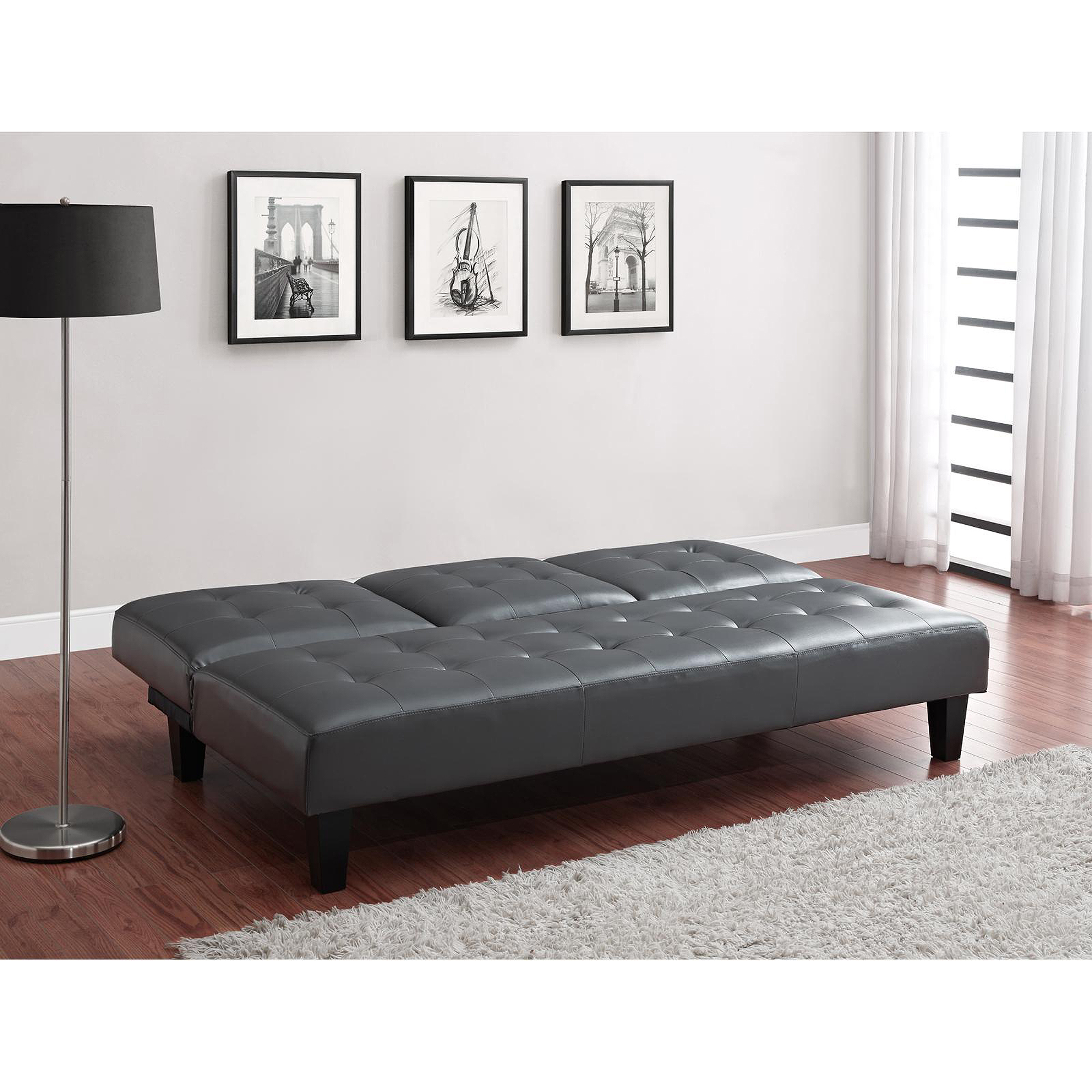 julia cupholder convertible futon sofa bed white unique ideas www