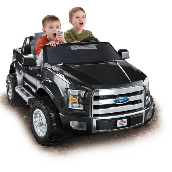 Power Wheels Ford -150 12-volt Battery-powered Ride