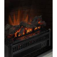 Electric Fireplace Logs Insert Crackling Heater With ...