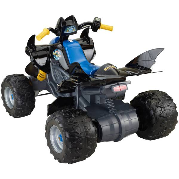 Power Wheels Dc Super Friends 12-volt Battery-powered Kawasaki Bat