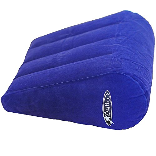 """Aylio Small Inflatable Wedge Pillow 14""""L x 17""""W x 7&quo"""