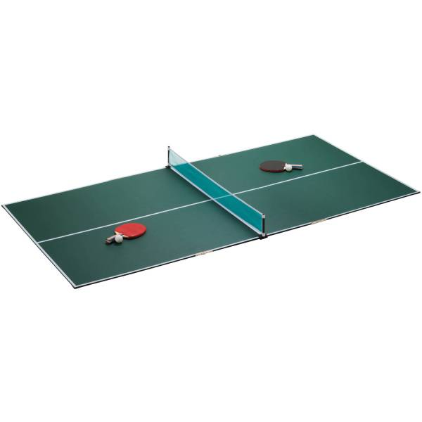 Portable Tennis Table Top Ping Pong Home Dorm Compact With Paddles Extra Games