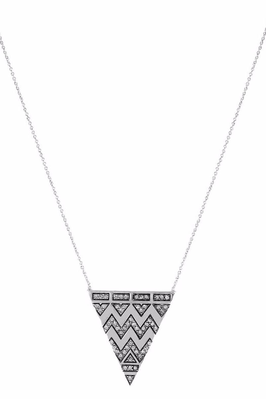Tribal Triangle Pendant from Ohio by Emleigh's and Mama B