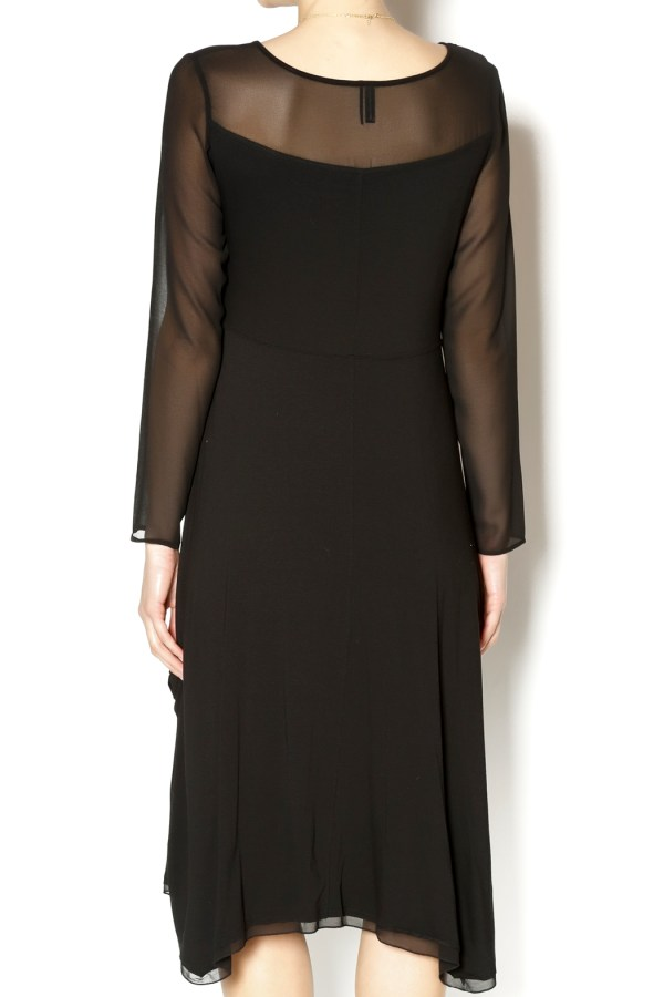Stella Carakasi Black Rayon Dress Jersey