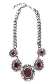 Julia Vogue Bold Stone Necklace from California — Shoptiques