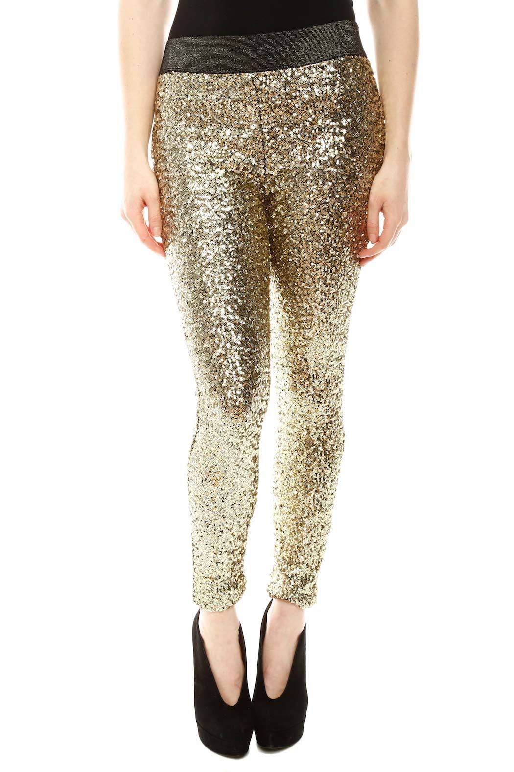 Do  Be Sequin Leggings from Miami by Prinzzesa  Shoptiques