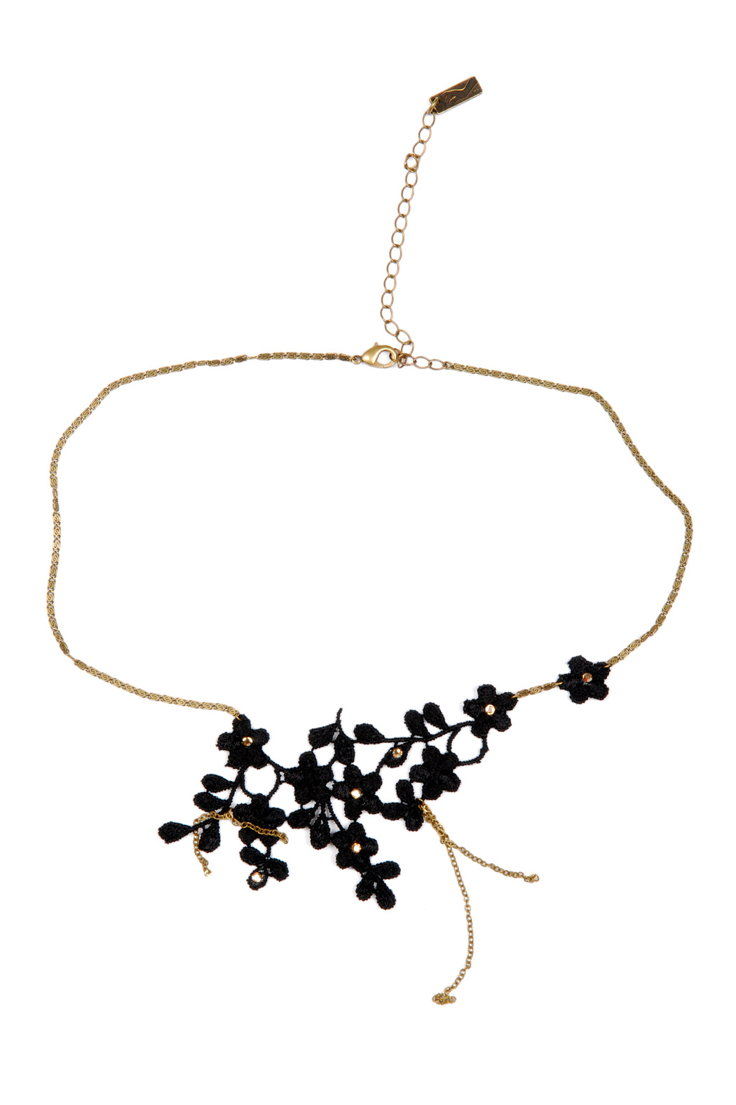 Alexandra Francois Lace Flower Necklace From Bastille By