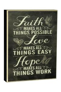 Carson Faith Wall Art from Iowa by Love & Lace  Shoptiques