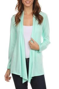 Chris & Carol Open Front Cardigan from Montclair by Oasis ...