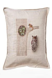 Coral & Tusk Pocket Pillow Owl-In-Tree from Pennsylvania ...