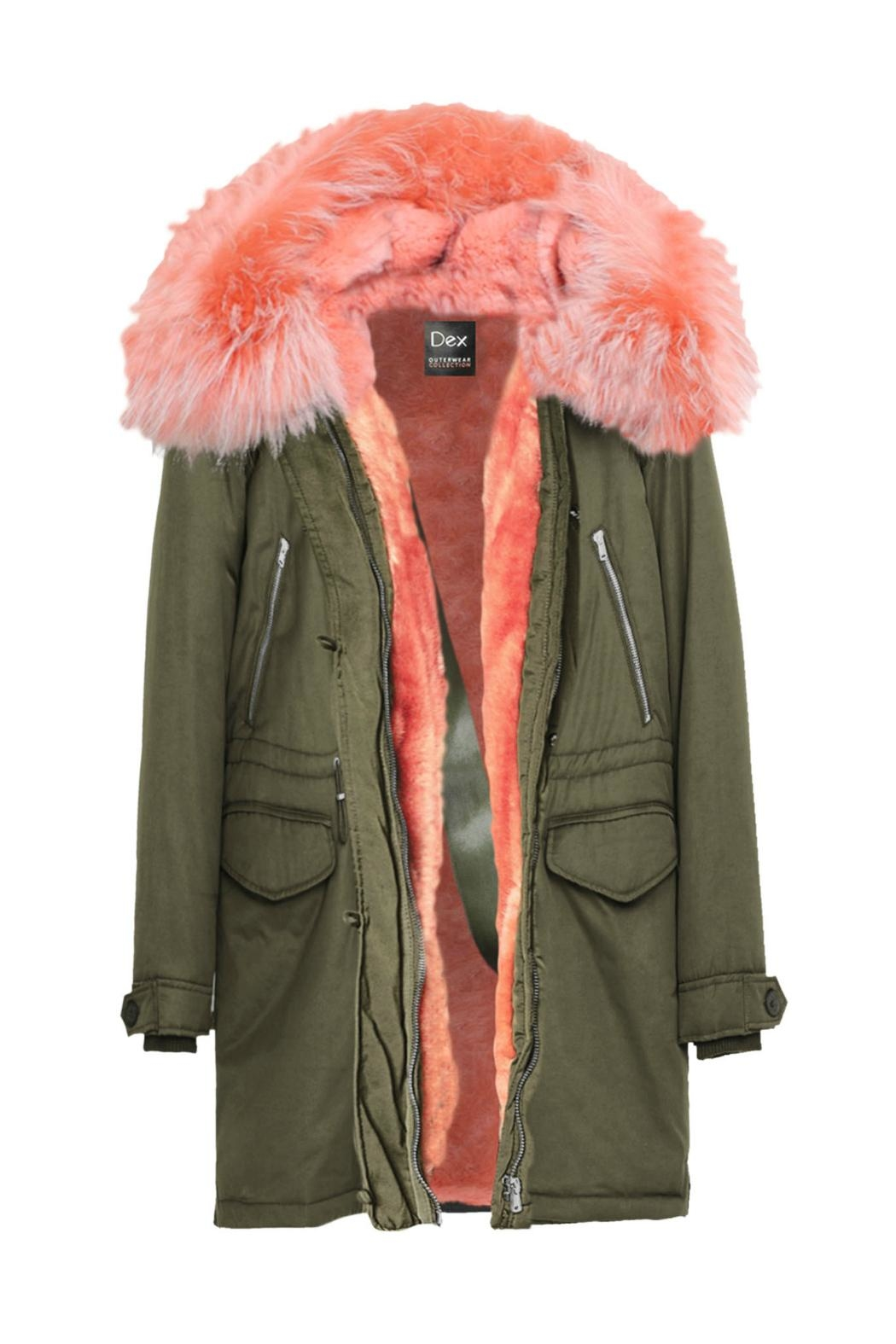 Dex Faux Fur Parka From New Jersey By Charlotte's Web