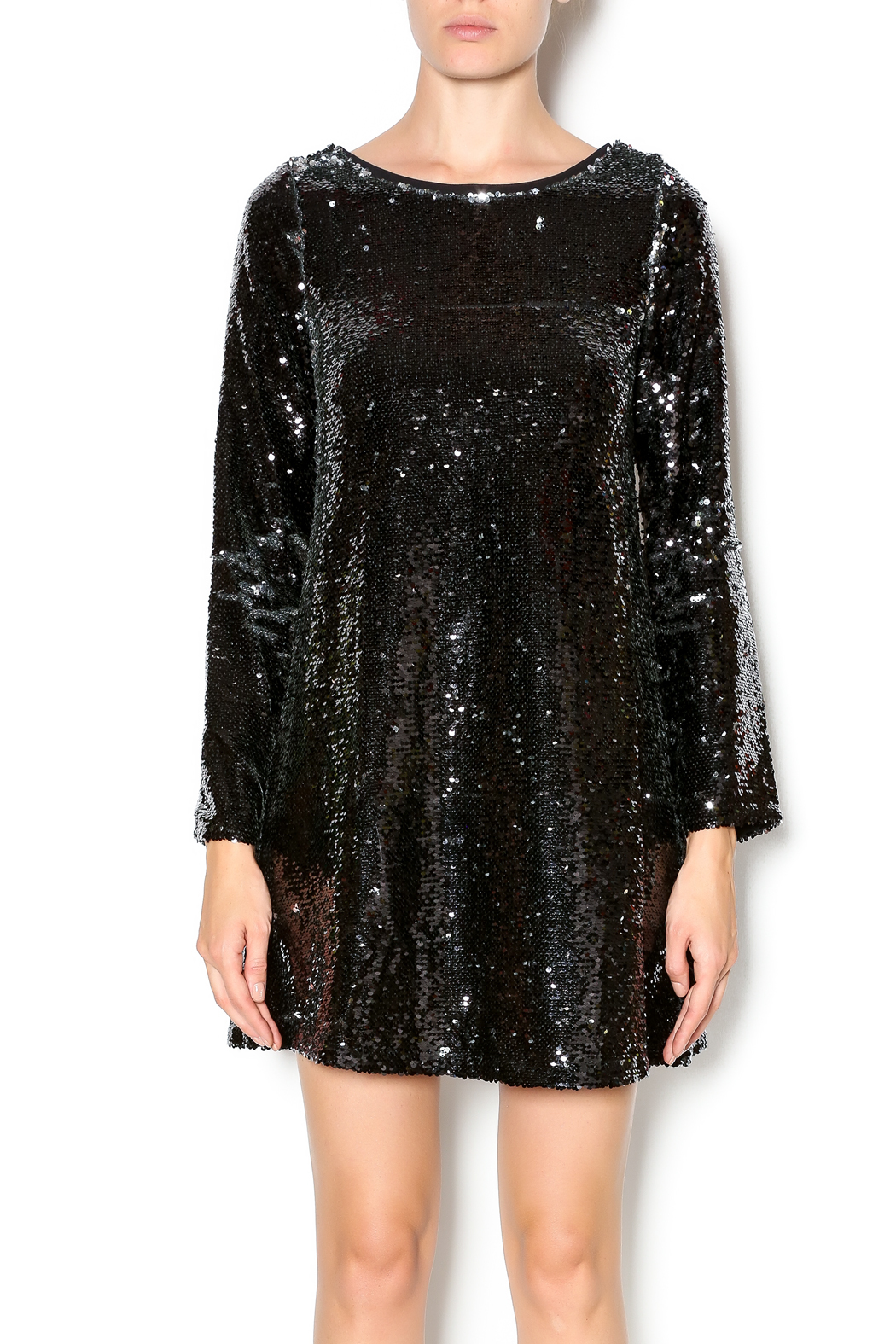 Double Zero Long Sleeve Sequin Dress from Naples by Petunias of Naples  Shoptiques