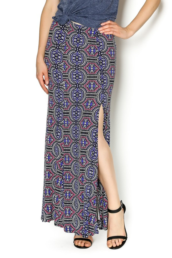 Eight Sixty Peace Maxi Skirt Marina & Clothing Boutique Shoptiques