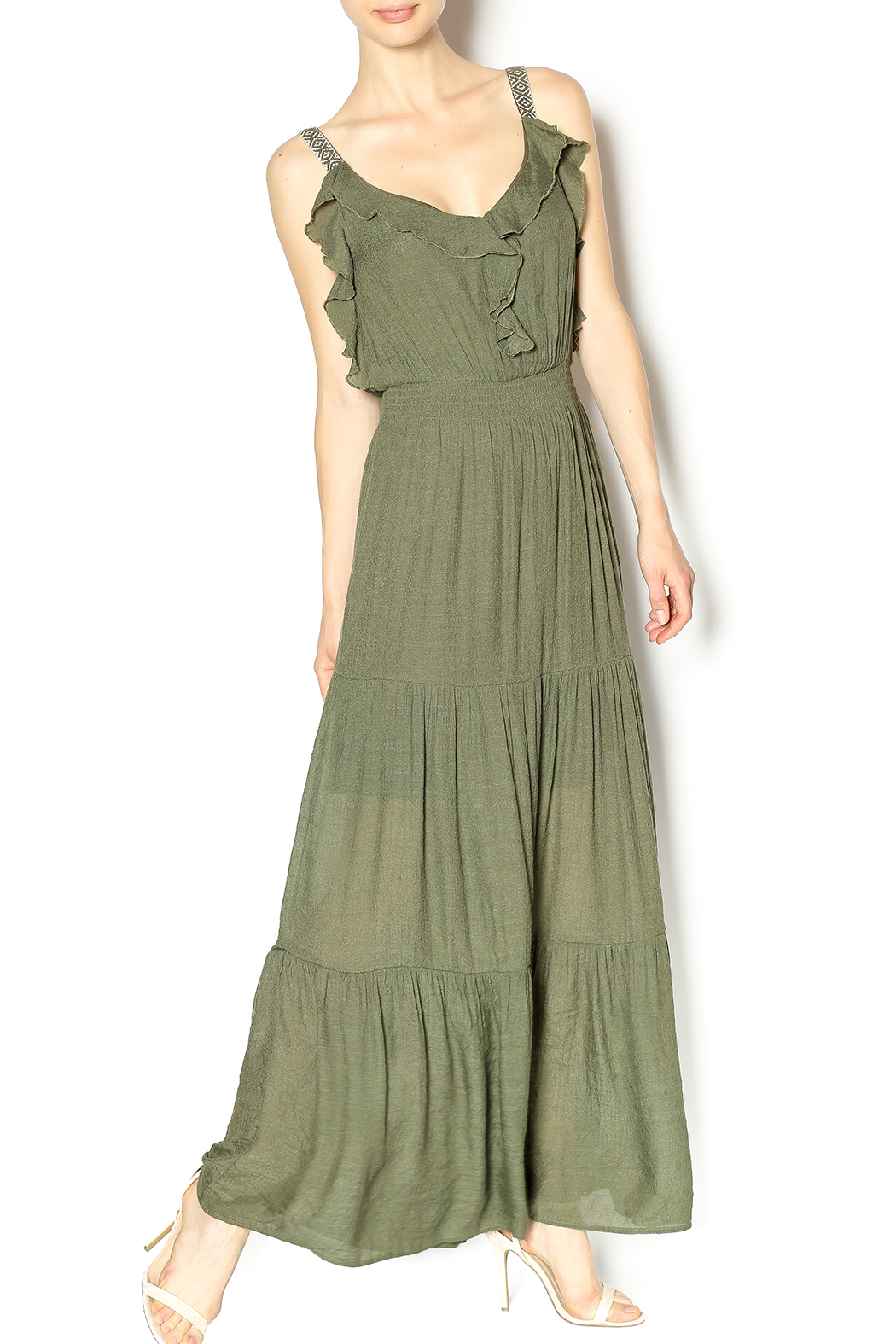 Entro Long Rayon Dress from Virginia by modsoul  Shoptiques