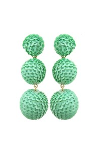 Fashion Pickle Pastel Statement Earrings from Manhattan ...
