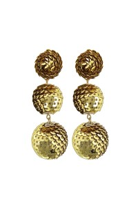 Fashion Pickle Sequins Ball Earrings from Manhattan ...