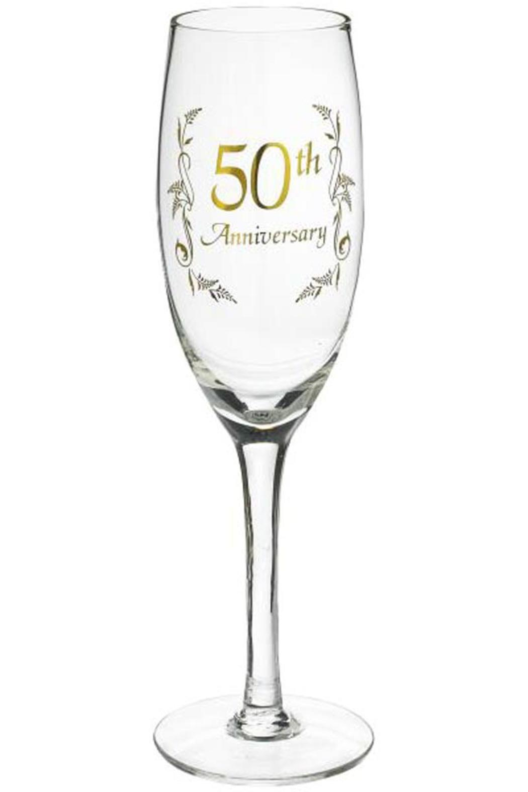 Ganz 50th Anniversary Champagne Glass from Alabama by