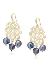 Gemma Collection Pearl Chandelier Earrings from Dallas ...